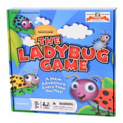 This is an image of a The Ladybug Game board game for kids.