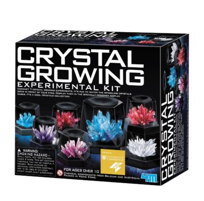 This is an image of a crystal growing kit.