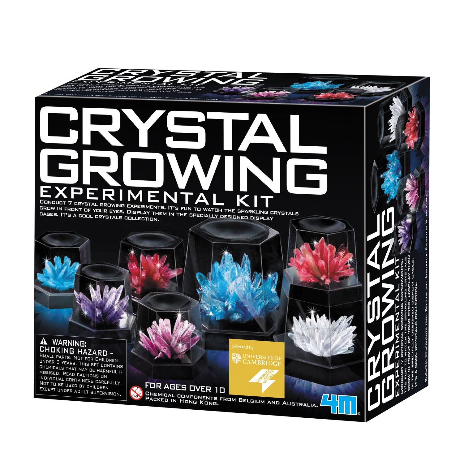 World Of Science Crystal Growing Kit Geology Set For Children