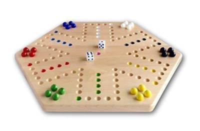 This is an image of a 16 inch wide aggravation game board.