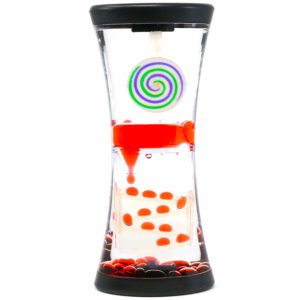 Hypnotic Liquid Motion Spiral Timer Toy for Sensory Play