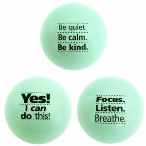 Motivational Stress Balls, Fun Fidget Toys