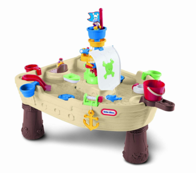 This is an image of a pirate ship water table by Little Tikes for kids.