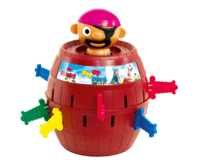 This is an image of a pop up toy for kids.