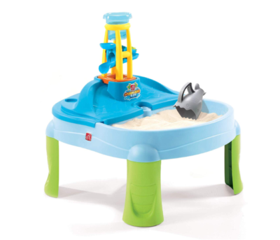 This is an image of a Splash and Scoop water and sand table for kids.