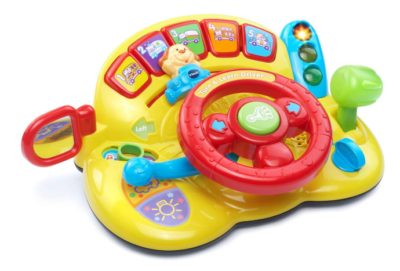 This is an image of a baby's steering wheel toy.
