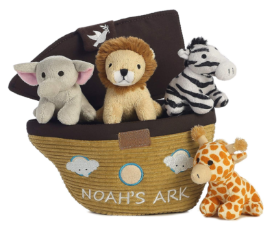 This is an image of a Noah's Ark baby toys.