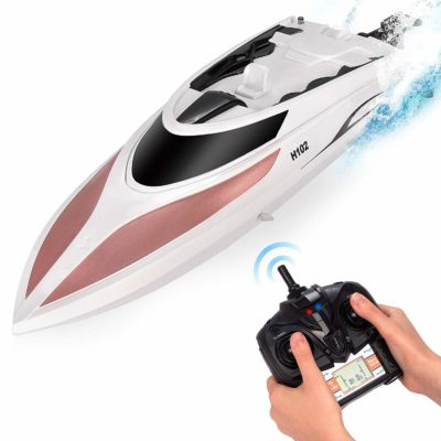 This is an image of a rc boat by Abco Tech