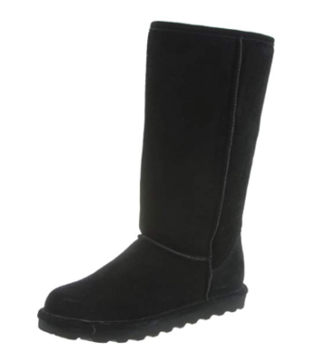 This is an image of a black fashion boots for women.