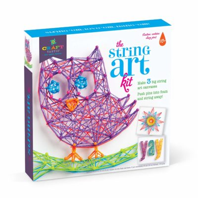 This is an image of an owl edition string kit.
