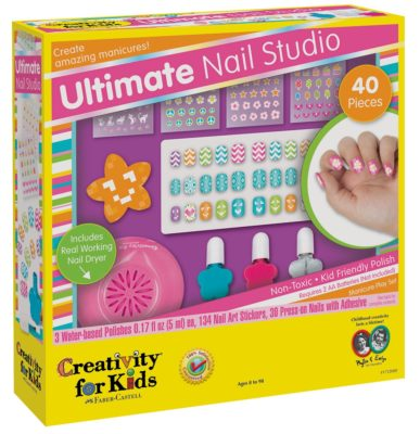 This is an image of an ultimate nail studio playset.