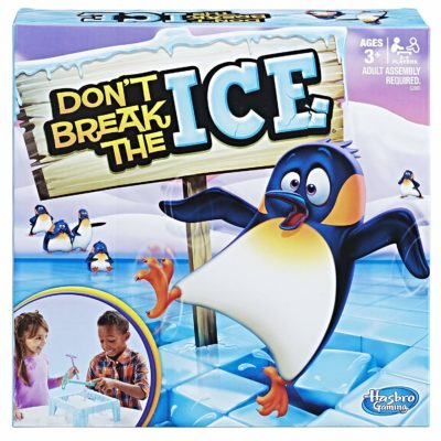 This is an image of a Don't Break the Ice Game board game for kids.