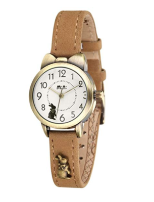 This is an image of a Khaki wrist watch with cat ear case.