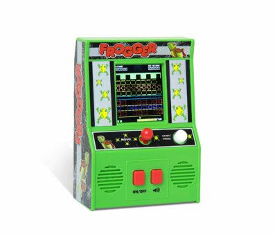 This is an image of a classic handheld arcade game.