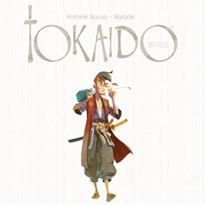 This is an image of a Tokaido Deluxe game for kids.