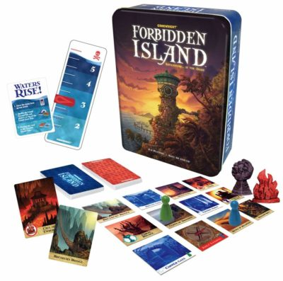 This is an image of a Forbidden Island adventure game.