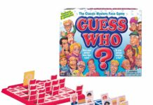 This is an image of a Guess Who?