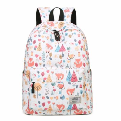 This is an image of a cute pattern school bag.