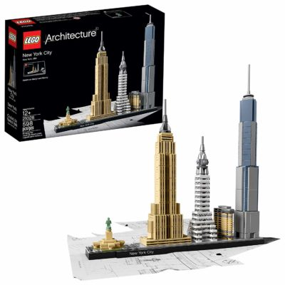 This is an image of a New York City building kit for kids.
