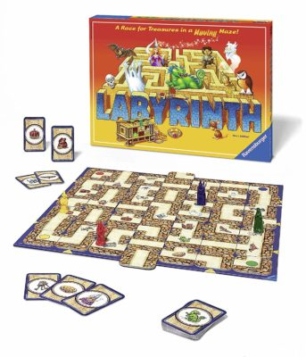 This is an image of a Labyrinth board game for kids.