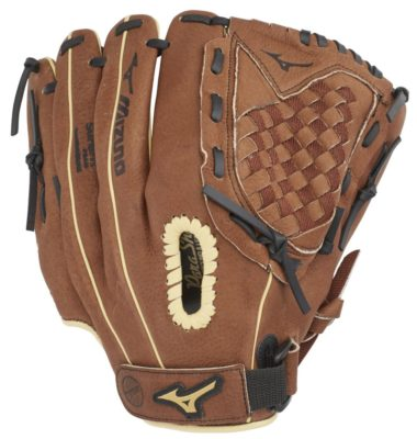 This is an image of a right hand throw baseball gloves for kids.