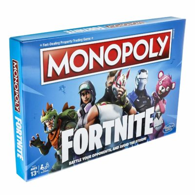 This is an image of a fortnite edition board game for kids.