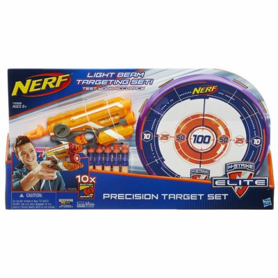This is an image of a Precision Target blaster set for kids.