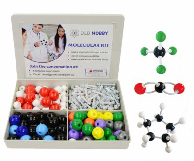 This is an image of a 239 piece molecular kit for kids.