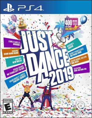 This is an image of a Just Dance 2019 game for kid's PS4.