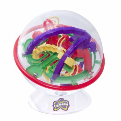 This is an image of a colorful Perplexus Rookie game.