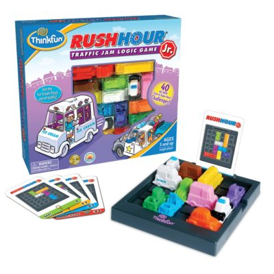 This is an image of a Rush Hour board game for kids.