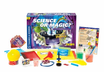 This is an image of a Science or Magic chemistry set for kids.