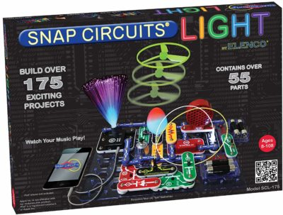 This is an image of an electronic exploration set with 175 projects.