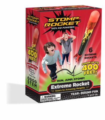 This is an image of a rocket launcher toy for kids.