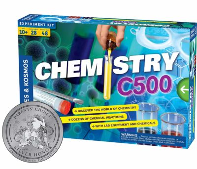 This is an image of a C500 chemistry set for kids.