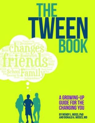 This is an image of The Tween Book medical book for kids.