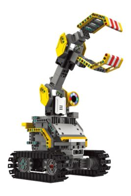 This is an image of a robot builderbot building block kit