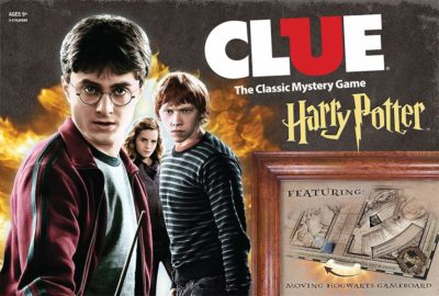 This is an image of a Harry Potter classic mystery board game.