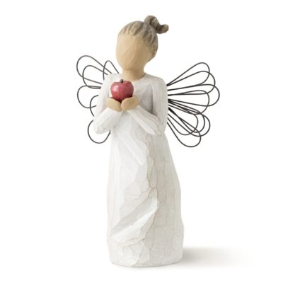 This is an image of an angel figurine with appreciation message.