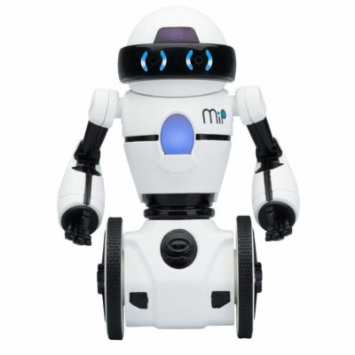 This is an image of a white robot called MiP.