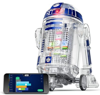 This is an image of a Star Wars Droid for kids.