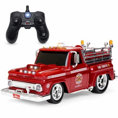 This is an image of a rc fire truck by Best Choice Products.