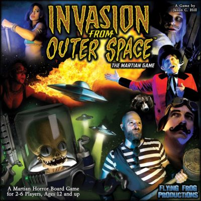 This is an image of a martian game called Invasion from Outer Space by Flying Frog.