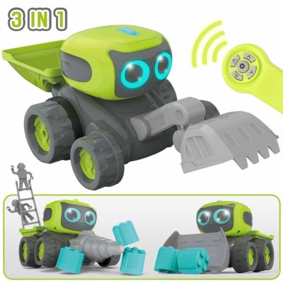 This is an image of a 3 in 1 robot car by GILOBABY.