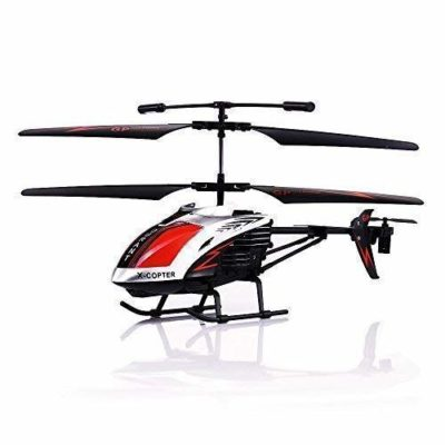 This is an image of a red G610 rc helicopter by GPTOYS.