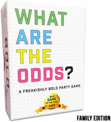 This is an image of a card game called What are The Odds? by Gatwick Games.