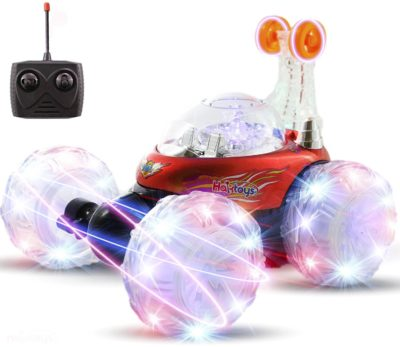This is an image of a red Invincible Tornado rc vehicle by Haktoys.