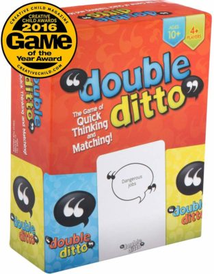 This is an image of a Double Ditto board game by Inspiration Play.