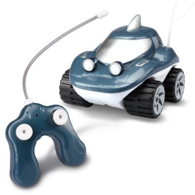 This is an image of a Morphibians Shark rc car by Kid Galaxy.