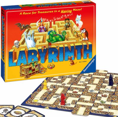 This is an image of a board game called Labyrinth by Ravensburger.